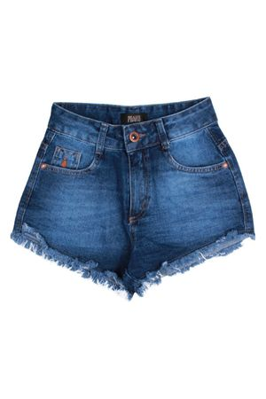 Shorts Jeans Cintura Alta Style
