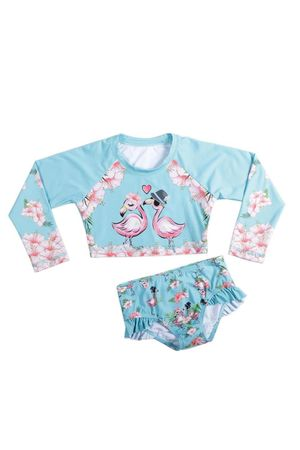 Kit Cropped Flamingo