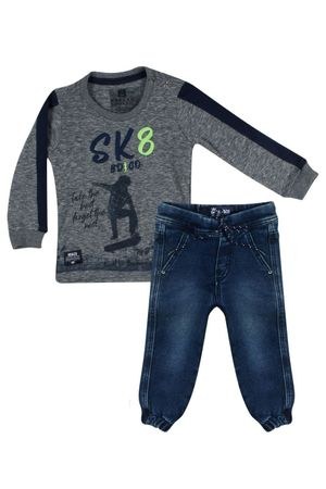 Conjunto Camiseta Jeans The Best