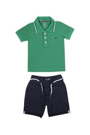 Conjunto Polo Piquet Anchor