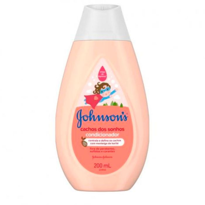 Condicionador Johnsons Baby Cachos Dos Sonhos 200ml