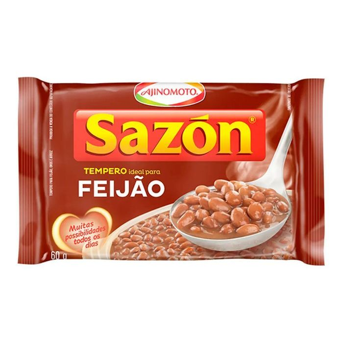 Sazon Marron Feijao 60g