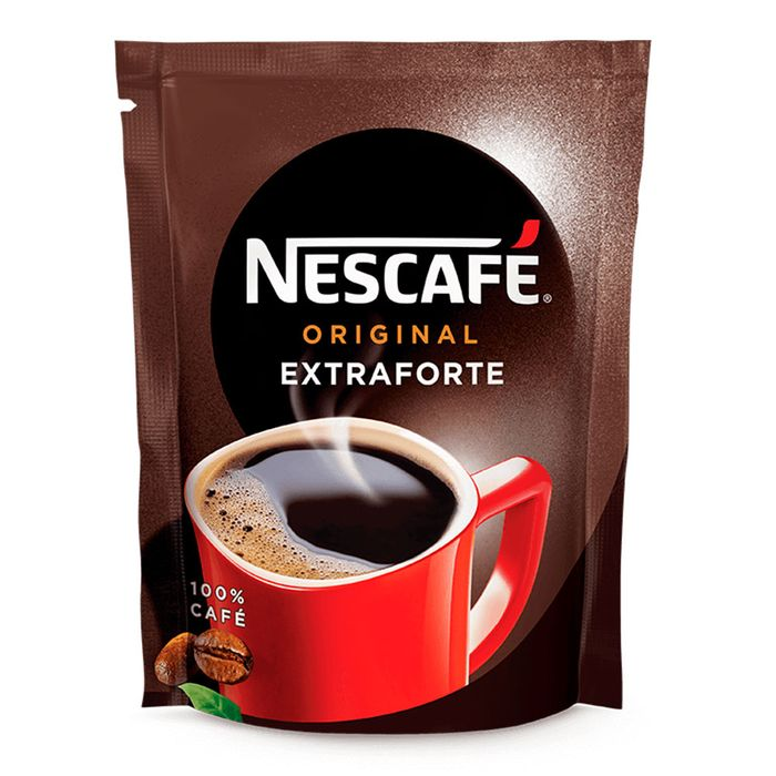 Cafe Soluvel Extraforte Nestle Nescafe Original Sache 50g