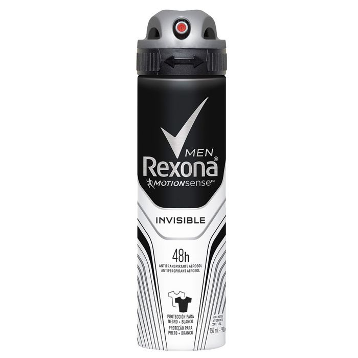 Desodorante  Aerossol Invisible Men Rexona Motionsense 150ml