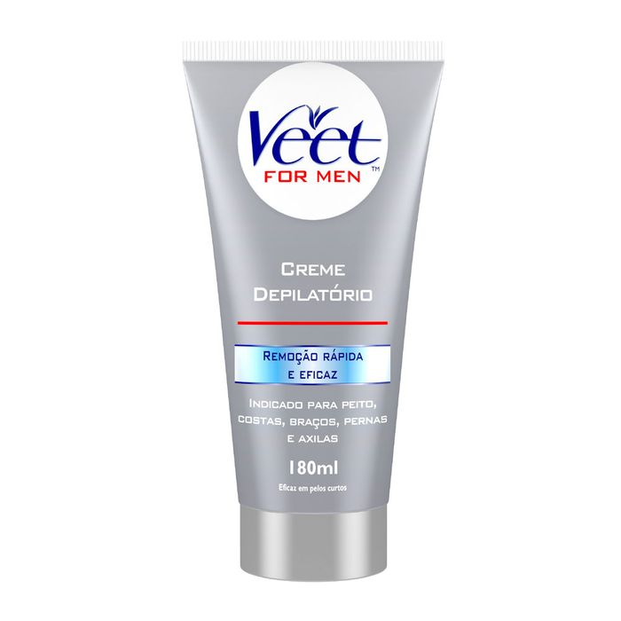 Creme Depilatorio Corporal Veet For Men Veet 180ml