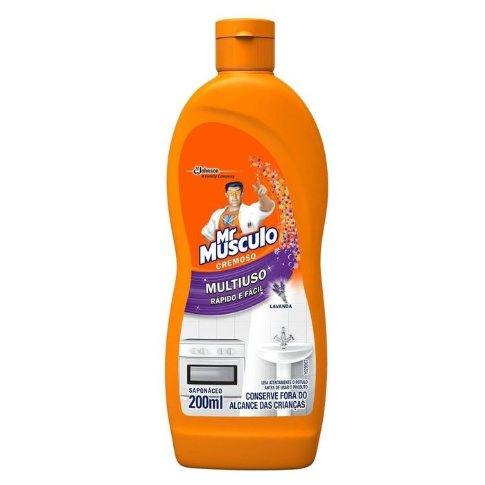 Saponaceo Mr Musculo Lavanda 200ml