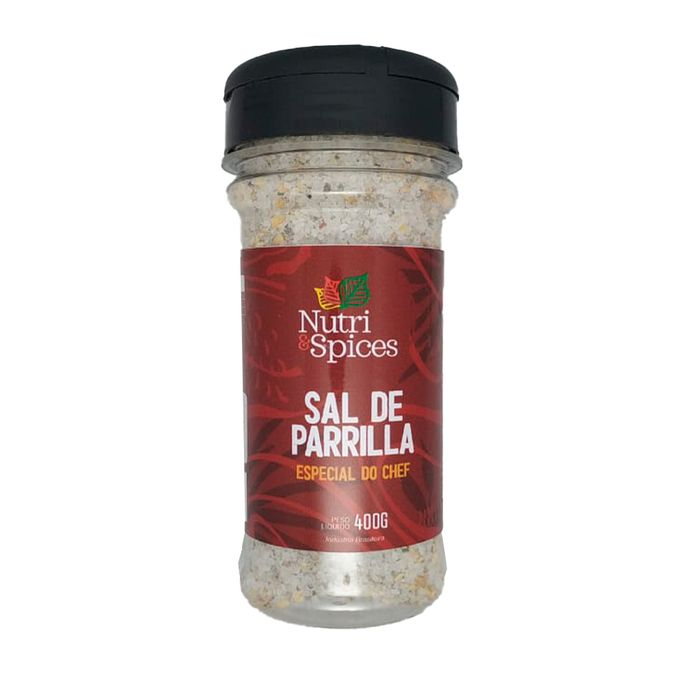 Sal De Parilla Pote Nutriespices Especial Do Chefe 400g