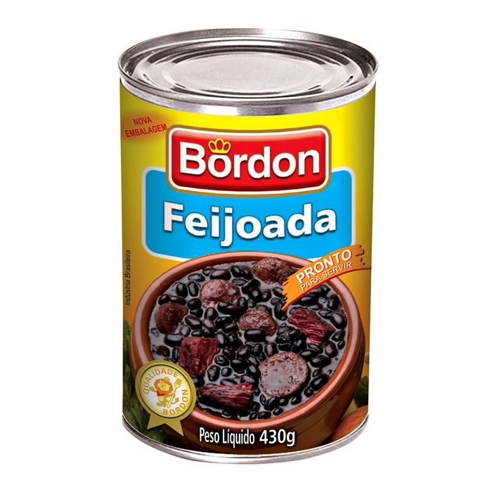 Feijoada Bordon Lata 430g