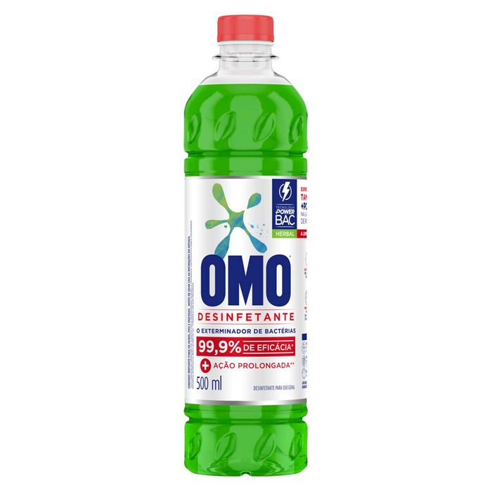 Omo Desinfetante Herbal 500ml