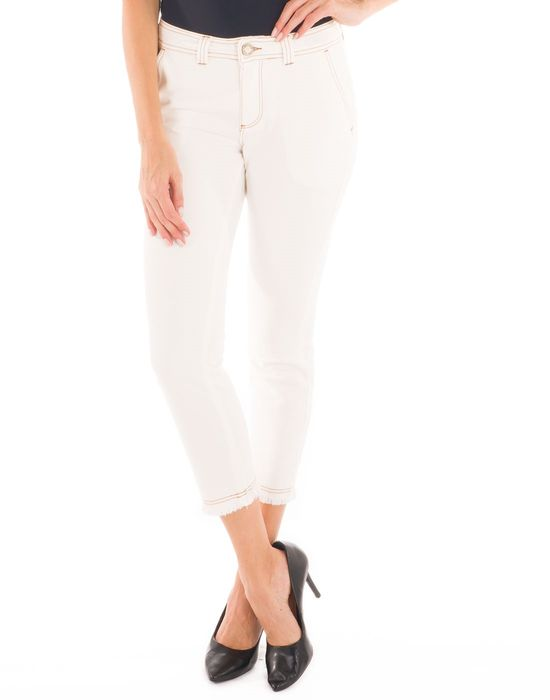 Capri white denim