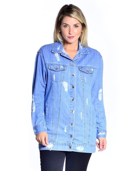 JAQUETA JEANS OVERSIZED