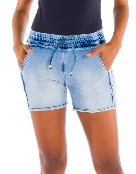 Shorts Moletom Denim