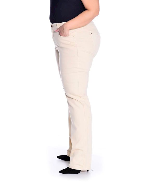 Calça Plus Size Sarja Colorida