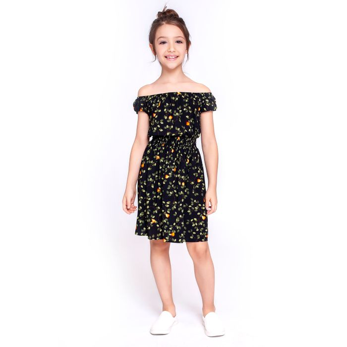 Vestido Kids Cigana Estampado