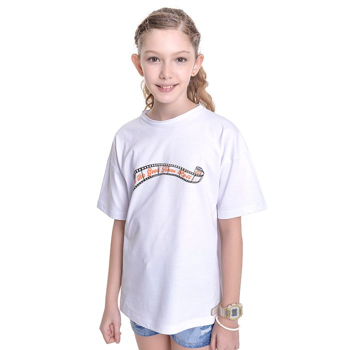 Camiseta Kids Amofany Good Times