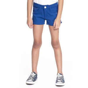 SHORT KIDS COM RENDA LATERAL