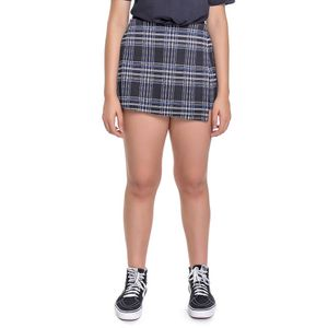Short Saia Teen Xadrez