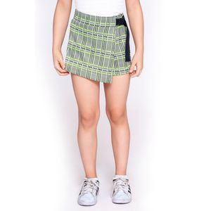 SHORT KIDS JACQUARD NEON