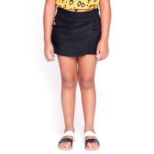 Short Saia Kids Com Bolso