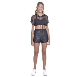 Cropped Teen Amofany Musseline