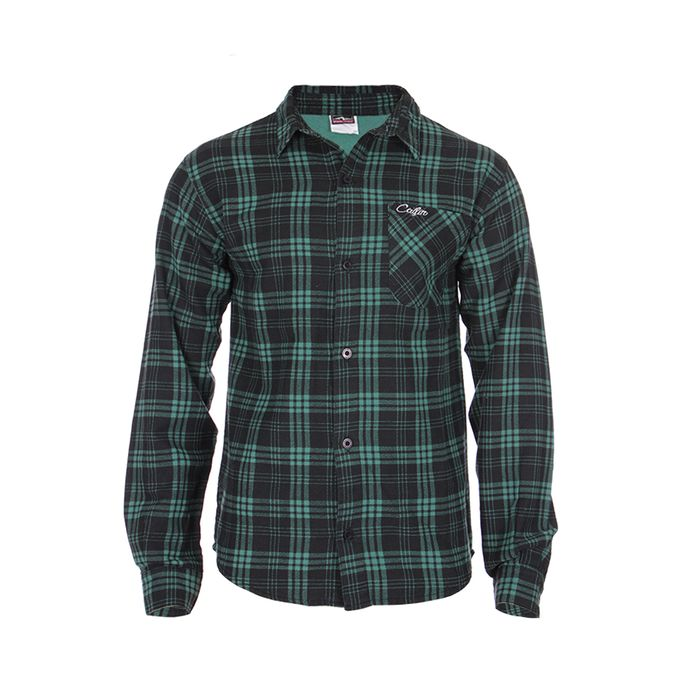 Camisa Flanela Creek Bordado Bolso