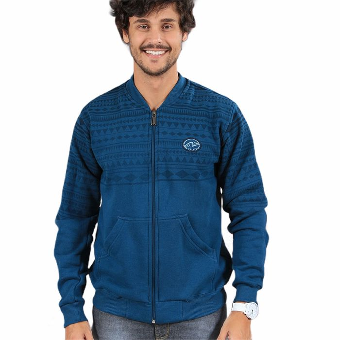 Moletom Canguru Calfin  Gola Fleece Silk Indian