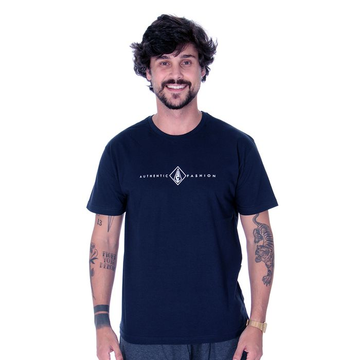 Camiseta Calfin Authentic Fashion Folhas
